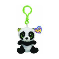 SeguiPrezzi.it - Ty 36502 - Bamboo Clip Beanie Boos, Portachiavi Panda - Prezzo: EUR 3.90 (72% di sconto)