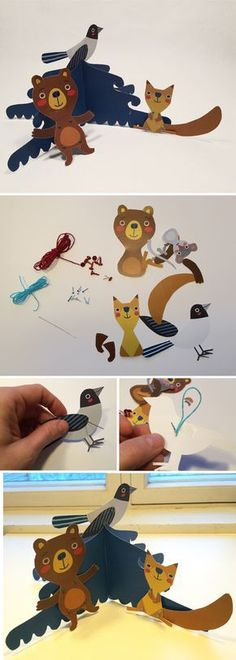 Projects For Kids, Diy And Crafts, Art Projects, Crafts For Kids, Paper Crafts, Bowser, Diy Gifts, Free Printables, Christmas Crafts