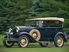 1930–31 Ford Model A Phaeton (35B) Maintenance/restoration of old/vintage vehicles: the material for new cogs/casters/gears/pads could be cast polyamide which I (Cast polyamide) can produce. My contact: tatjana.alic@windowslive.com