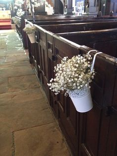 Posy Barn pew bucket