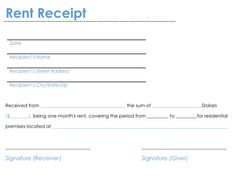 Bill Receipt 17 Bill Receipt Templates  Free Printable Word Excel & Pdf .