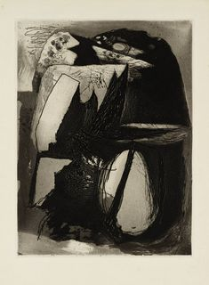 Graham Sutherland OM (1903‑1980) Title: Clegyr Boia Date 1938 Medium: Etching and aquatint on paper