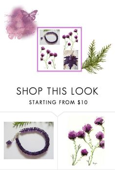 """Purple gifts"" by keepsakedesignbycmm ❤ liked on Polyvore featuring jewelry and accessories"