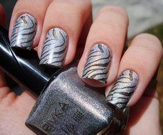 Easy to make zebra stripes