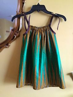 Dress A Girl / Sew Urbane / Ankara Pillowcase Dress
