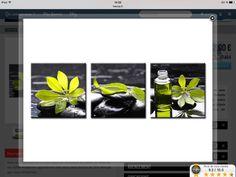 Triptyque Tableau Déco Zen Colonne Galets Bambou Eau | zen | Pinterest