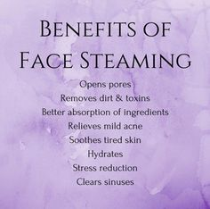 Have you tried steaming your face yet? Talk about a spa like experience at home! Ahhh. Our steam packs are made with lavender flowers and green tea. #natural #beauty #skincare #lavender #blemishes #SkinCareForTeens #WartsOnFace Beauty Care, Beauty Skin, Beauty Hacks, Diy Beauty, Homemade Beauty, Beauty Secrets, Beauty Guide, Beauty Ideas, Face Beauty