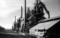 Bethlehem Steel, once a symbol of American industry, went bankrupt in These photos help us imagine its glory days. Photographs by Jeremy Blakeslee Bethlehem Steel, Abandoned Factory, Ghost In The Machine, Steel Mill, Jungle Gym, Industrial Architecture, History Photos, Ghosts, Technology