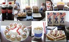 The Moore Family: Brian's Baseball Birthday Party