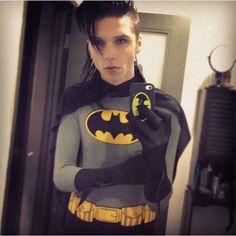 Andy Biersack To Play Batman In New D.C. Fetish Movie ❤ liked on Polyvore featuring black veil brides, batman, pictures, bvb and andy biersack