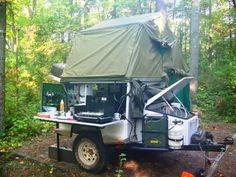 Fantastic AT camp trailer