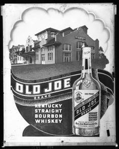 Advertisement for Old Joe brand Kentucky straight bourbon whiskey, 1939. :: Royal Photo Company Collection