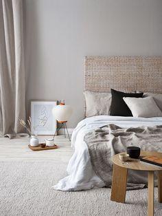 clean Minimal Bedroom, Modern Bedroom, Contemporary Bedroom, Contemporary Kitchens, Bedroom Vintage, Trendy Bedroom, Cozy Bedroom, Home Decor Bedroom, Bedroom Ideas
