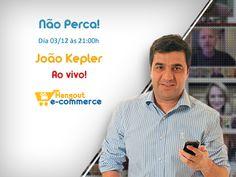 Convidado: João Kepler (Show de Ingressos). Tema: A Arte de Vender Pela Internet. Com Denis Zanini e Elvis Gomes. Clique e assista