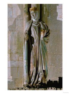 1250-1260, Germany, Naumburg Cathedral.  Countess Gerburg