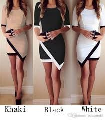 Image result for white bodycon cocktail dresses
