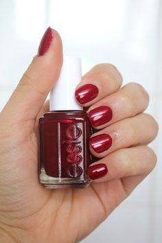ESSIE : Thigh High -- another good fall/winter red