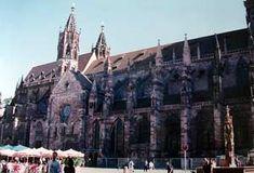 La catedral de Friburgo, Selva Negra, Alemania