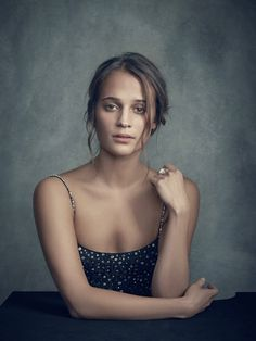 Alicia Vikander #Woman #Beauty                                                                                                                                                                                 More