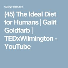 Galit Goldfarb begins with her own story -- becoming bulimic as a teen, and determining to learn all she could about science and nutrition in college, and ye. Raw Vegan, Nutrition, Science, Diet, Youtube, Loose Weight, Flag, Science Comics, Diets