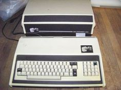 Exidy Sorcerer Computer w s 100 Bus Adapter - My First Computer!!