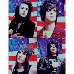 I have this on my wall. ^-^ ( Falling In Reverse )