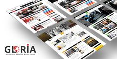 Gloria - Multiple Concepts Blog Magazine WordPress Theme The Gloria template is excellent for a News, Newspaper, Magazine, Lifestyle or Review site. It also supports videos from YouTube, Vimeo and features a rating system. It uses the best clean SEO practices, and on top of that, it?s fast, simple, and easy to use. So far, you will also have access to lifetime updates at no extra cost.