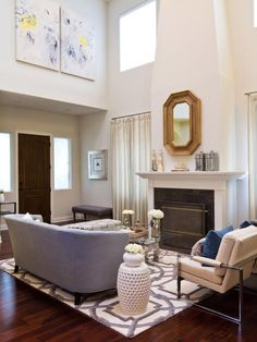 Transitional | Living Rooms | Shelly Riehl David : Designer Portfolio : HGTV - Home & Garden Television