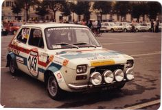 Image and video hosting by TinyPic Rally Raid, Fiat Abarth, Car And Driver, Sport Cars, Custom Cars, Cars And Motorcycles, Vintage Cars, Cool Cars, Automobile