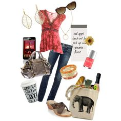 """""""All Around Town"""" by medeak on Polyvore"""