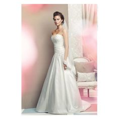 Wedding Dresses and Wedding Gowns: A-line wedding dresses and gowns via Polyvore