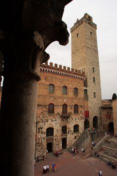 Chigi Tower - san Gimignano towers