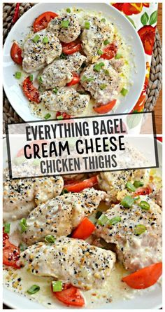 Instant Pot Everything Bagel Cream Cheese Chicken Thighs – Make the Best of Everything Kid Friendly Chicken Recipes, Best Chicken Recipes, Cooking Chicken Thighs, How To Cook Chicken, Instant Pot Pressure Cooker, Pressure Cooker Recipes, Cream Cheese Chicken, Cream Cheese Sauce, Everything Bagel