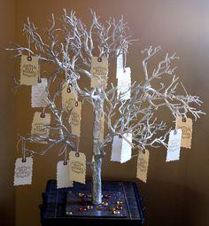 wedding wishes tree