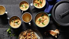 Middle Eastern cauliflower soup   Soup recipes   SBS Food