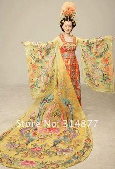 Красота, вдохновленная природой - Китайская традиционная одежда и мода, ей вдохновленная