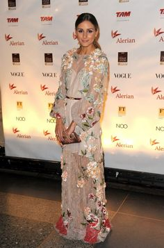 Loved this Valentino dress! Olivia Palermo always fashion!