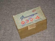 ФЭД - 4 коробка руководство паспорт made in USSR