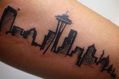 Beautiful city tattoos from around the world (15 photos)