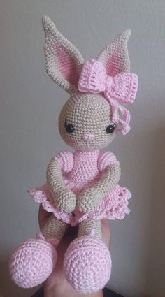 Most Likes Amigurumi Toys – Knitting And We Easy Baby Knitting Patterns, Crochet Dolls Free Patterns, Amigurumi Patterns, Crochet Rabbit, Cute Crochet, Crochet Toys, Knitting Toys, Knitted Bunnies, Crochet Turtle