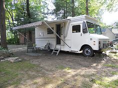 1975+Grumman+Olson+Step+Van+Camper+Conversion+Motorhome+RV
