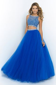 Blue Quinceanera Dresses | Two Piece Dress | Sapphire Dress | Modern Quinceanera | Blue Dress | Sweet 16 Dresses