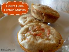 Carrot Cake Protein Muffins (THM-E)