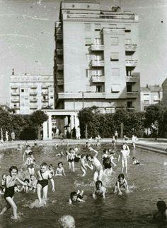 A Szent István park, 1930-as évek (MNM)