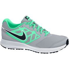 Nike Downshifter 6 Womens Running Shoes ($48) ❤ liked on Polyvore featuring shoes, athletic shoes, laced shoes, synthetic shoes, rubber sole shoes, nike and lace up shoes