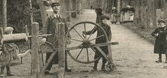 Cartes postales des métiers anciens Cordier