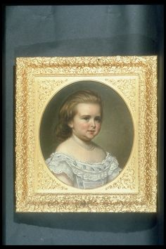 """Princess Alix of Hesse, later Alexandra Feodorovna, Tsarina Nicholas II of Russia (1872-1918) when a Child"", George Koberwein, 1874; Royal Collection Trust 406223"