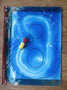 Sensory Bags - Pre-writing Skills   Pre-school Play