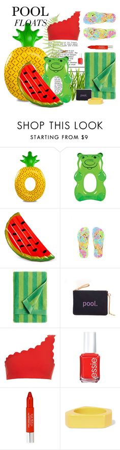 """""""POOL FLOATS"""" by gizaboudib ❤ liked on Polyvore featuring interior, interiors, interior design, home, home decor, interior decorating, Big Mouth, Wembley, Lilly Pulitzer and Marimekko"""