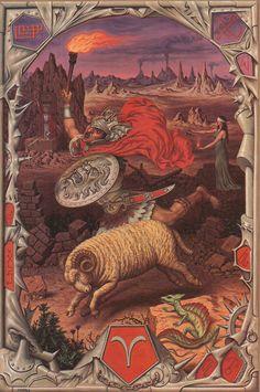 Baran, Aries by Johfra Bosschart